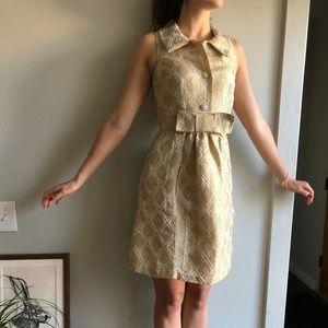 Retro Gold Dress